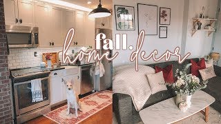 fall living room tour