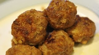 (hd) Recipe: Savory Meatballs