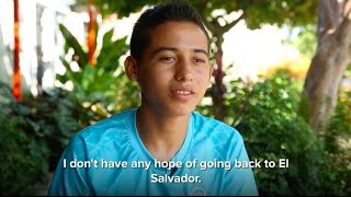 El Salvadorian Brothers Flee Gang Violence for Mexico