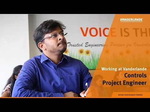 Working as a Controls Project Engineer at Vanderlande