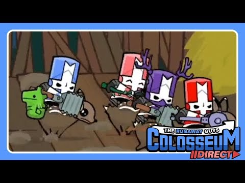 Castle Crashers Part 5 I Get Abducted By Aliens Youtube