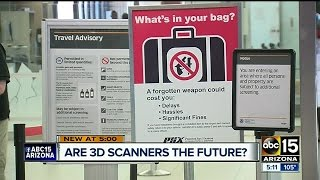 Sky Harbor is testing out 3D scanners to save time for passengers