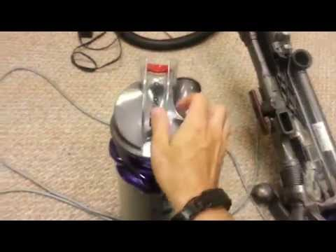How to fix your Dyson Vacuum Cleaner when it loses suction.