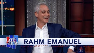 Mayor Rahm Emanuel Looks For Candidates Who Have Failed And Learned From Those Failures