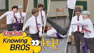 [Engsub] Knowing Brothers ep 94: BTS dance battle