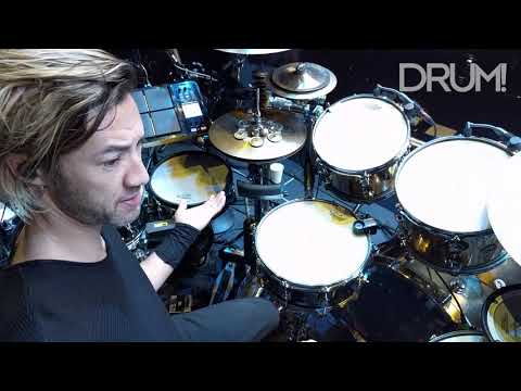 Gear Tour: Shakira Drummer Brendan Buckley's Massive Electronic/Acoustic Hybrid Drum Set