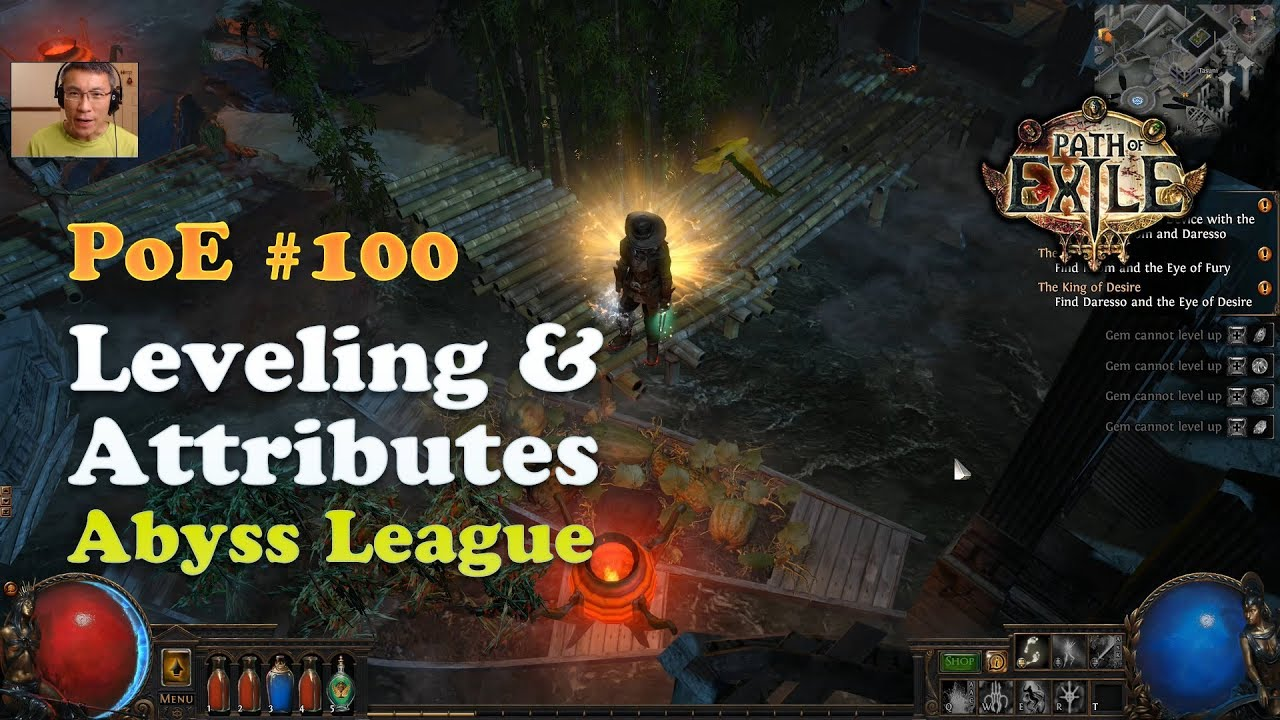 [PoE] Leveling & Attributes / New Player Series (Abyss League)