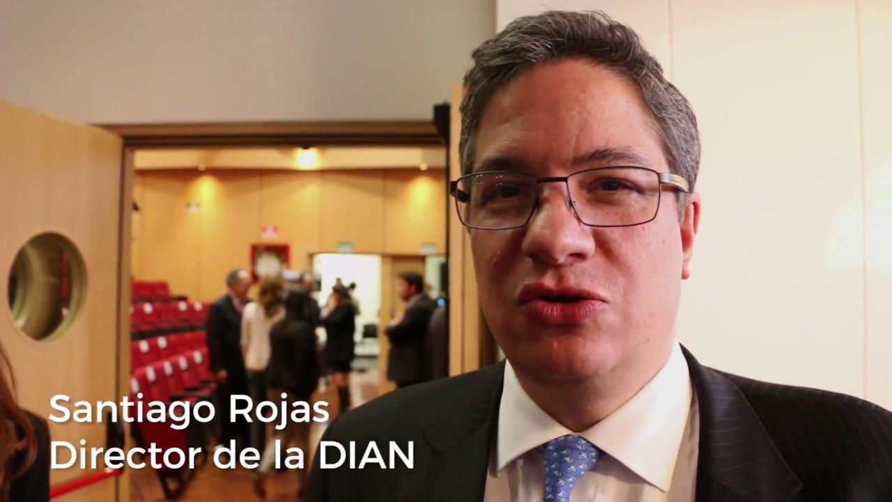 Resultado de imagen para Santiago Rojas, Director de la Dian