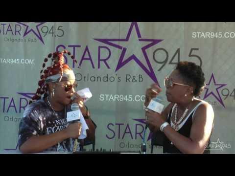 Da Brat Interview @ Orlando Funk Fest 2017