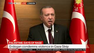 Erdogan: Israel is a terrorist state