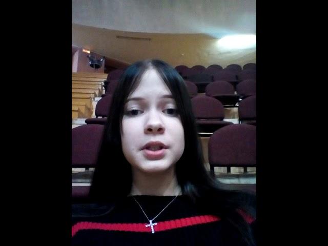Гумирова Полина читает произведение «Собака» (Бунин Иван Алексеевич)