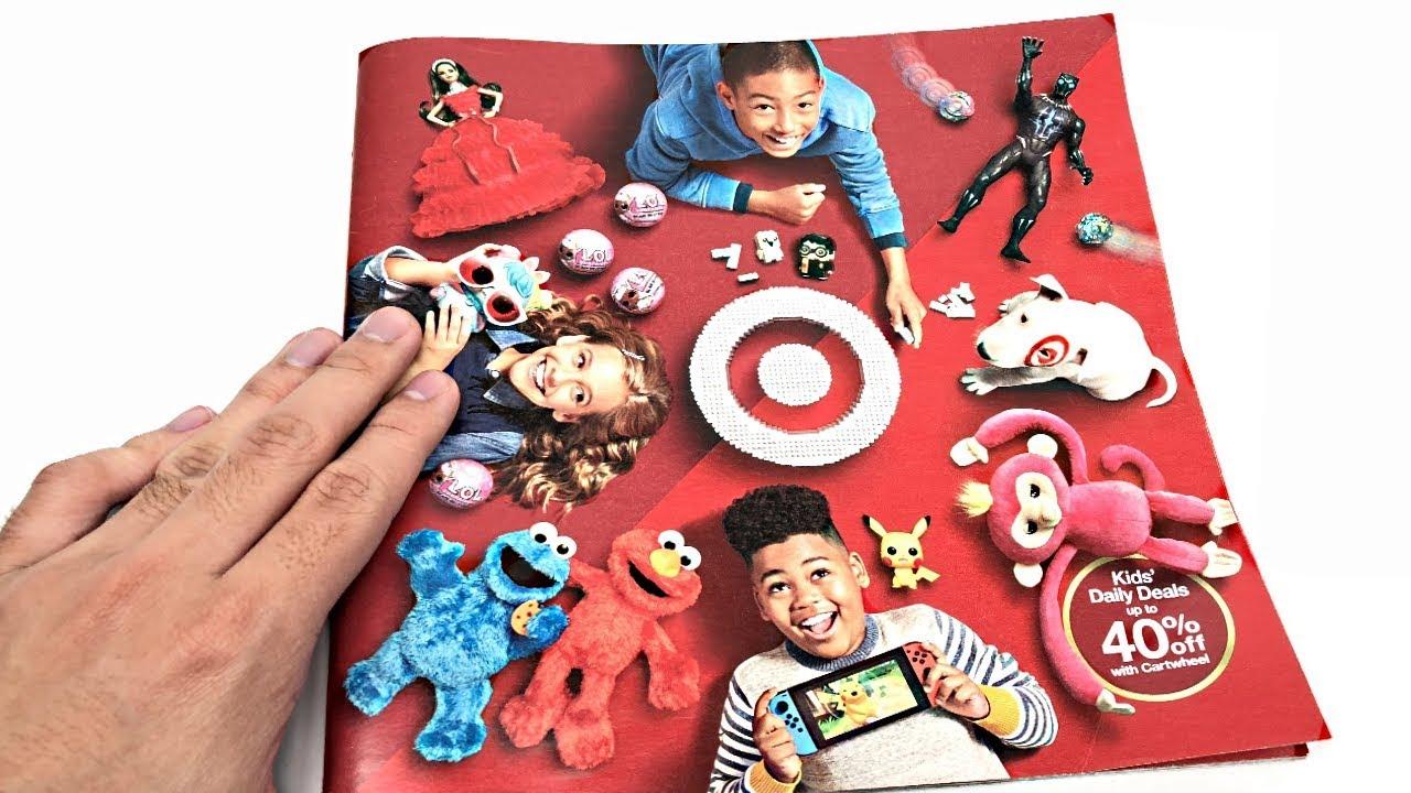 Target Holiday 2018 Catalog How Many Hot Christmas Toys