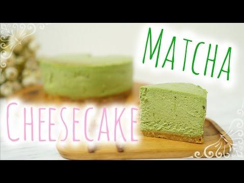 [Teakha] Matcha Cheesecake | [茶。家] 抹茶芝士蛋糕 - Peachy Bunny Bakes