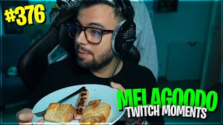 LA CENA SPECIALE DELLA ZIZA | PANETTY E JTAZ IN LOOP INFINITO | Melagoodo Twitch Moments [ITA] #376