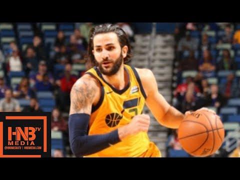 Utah Jazz vs New Orleans Pelicans Full Game Highlights / Feb 5 / 2017-18 NBA Season