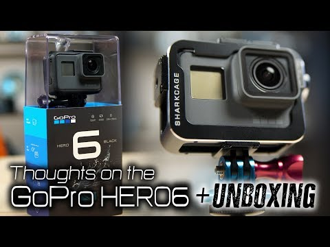 Deeper Thoughts on the GoPro HERO6 + Unboxing & Accessories