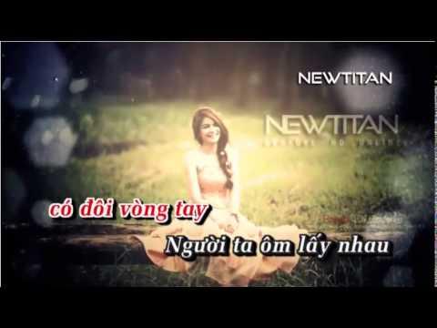 [Karaoke HD] Mùa Xa Nhau   Full Beat Gốc   Emily    Newtitan