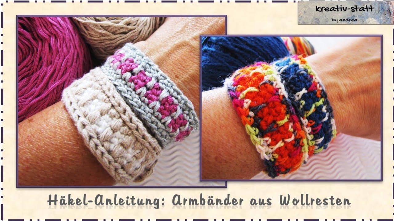 Häkeln Anleitung Armbänder Crochet Pattern Bracelet Youtube