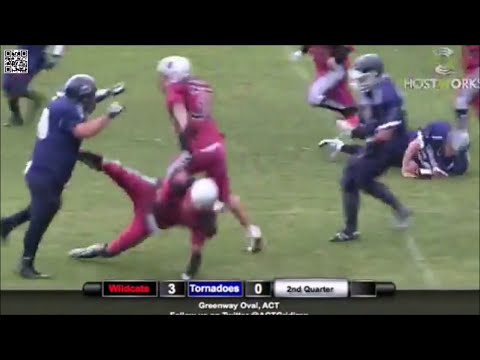 2015 Gungahlin Wildcats Smack, Sacks & Jack Ups Highlights