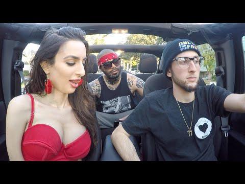 nerdy uber driver raps