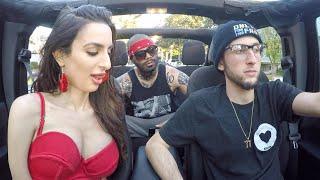Nerdy Uber Driver Raps Fast Surprises Riders! (Part 3)