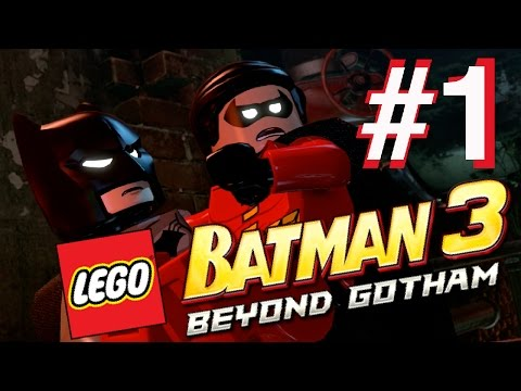 Lego Batman 3 Beyond Gotham PS4 [1] Smelly Sewers