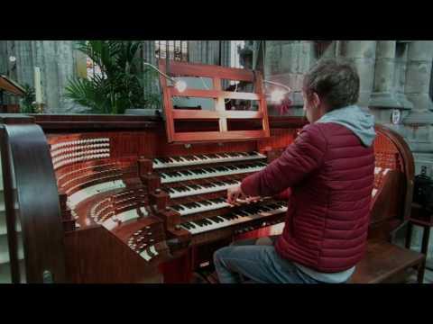 Jesu bleibet meine freude - improvisatie Gert van Hoef - St. Baafs Kathedraal Gent