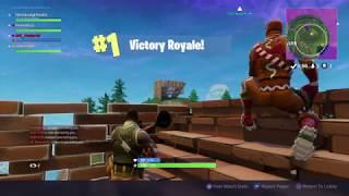 Craziest Win  in Fortnite...