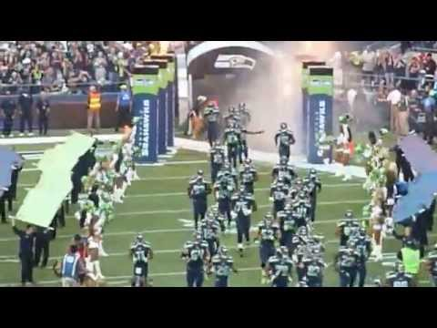 2014 NFL Kickoff Seahawks Championship Banner Reveal