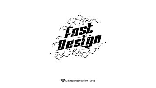 Creat Typography fastdesign - Illustrator Tutorials