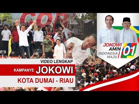 Kampanye Jokowi Di Kota Dumai Riau ~Video Lengkap~