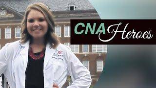 CNA Helps Shooting Victim - Mariah Collins - CNA Heroes on CNA-TV