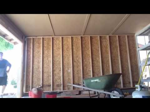 Carport Enclosures By Mike 602 820 3737 Youtube