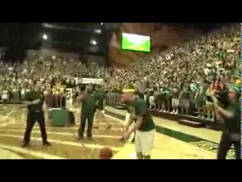 CSU student makes half-court shot for free tuition