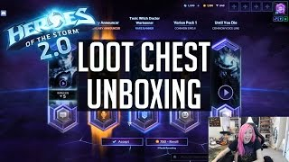 Loot Box Opening & Rewards   Heroes of the Storm 2.0