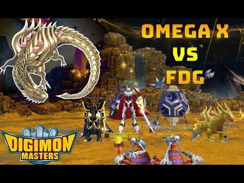 Omega X vs FDG!! ||GDMO||DMO||LUCEMON||