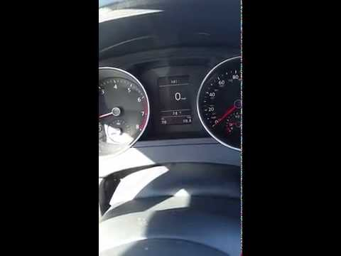 How to adjust Speed Warning on 2015 Jetta