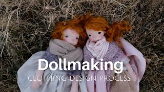 Dollmaking process - The Making of Maggie and Orla