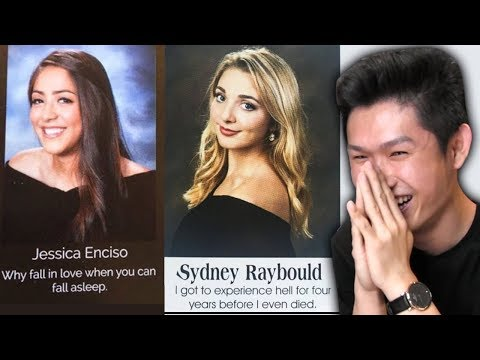 UNFORGETTABLE YEARBOOK QUOTES