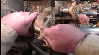 Wood Turning #98 A Scotch Broom Flower Holding Winged Tea Light Holder