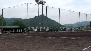 7回表『上郡中vs龍野東~上郡中学校野球部近隣大会2012』