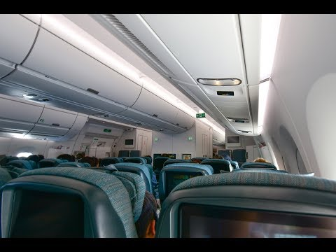 Economy Class | Cathay Pacific CX118 Auckland to Hong Kong Airbus 350-900 (Review #35)