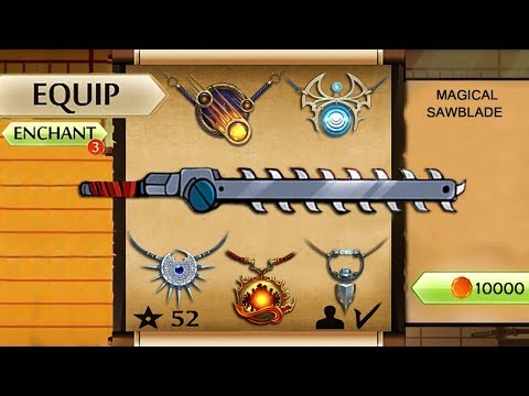 Shadow Fight 2 New The Most Powerful Magical Sawblade