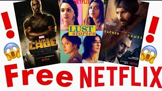💥Watch Netflix TV Shows & Movies💥Lifetime for Free💥| New Working Trick July 2018 | Tech Khizar |