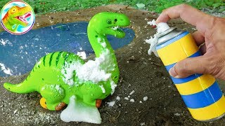 Bathe clean for you dinosaurs, crocodiles - children's toys G538O ToyTV