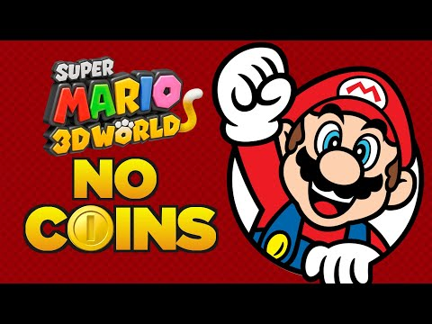 Is it possible to beat Super Mario 3D World without touching a single coin?