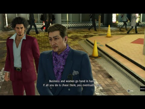 Yakuza: Like A Dragon ichiban confronting arakawa part 1 |