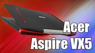 Acer Aspire VX5 (കോർ XXXX-7Ti) - വളരെ നിശബ്ദതയും പ്രവർത്തനവും നോട്ട്ബുക്ക്