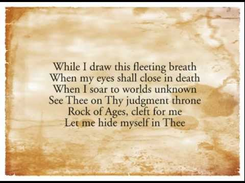 Rock of Ages, Cleft For Me - Sovereign Grace