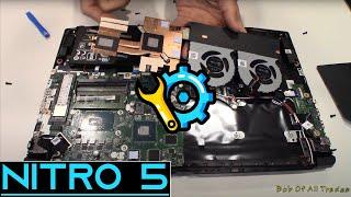 Acer Nitro 5 Teardown and Repaste w/ Kryonaut!  i5 8300h